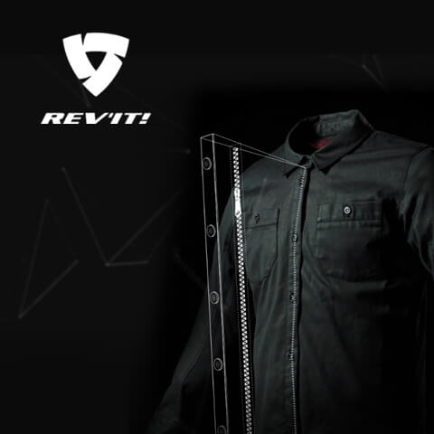 Productvideo with animation for REV'IT motorcycle clothing