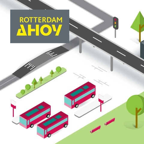 Promotional animation InfraTech for Rotterdam Ahoy